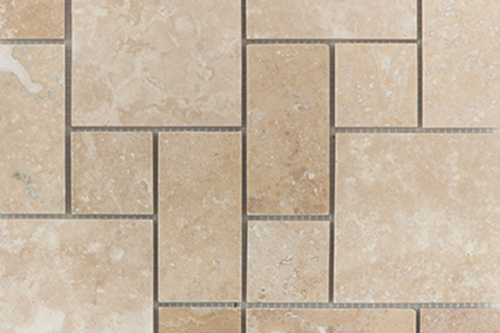 Mini Pattern Set - Travertine Mosaic