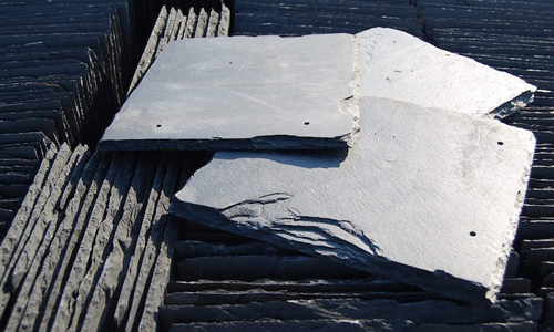 Slate Tiles Silver Blue Roofing
